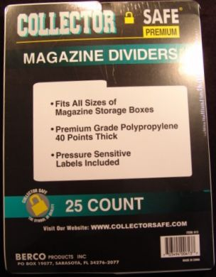 The Collector Safe Magazine Divider
