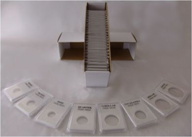 "Premium 2"" x 3"" Coin Grading Type Display Slabs / Holders"