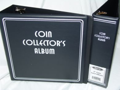 3 Inch Album For Coin Collecting