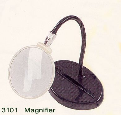 2x Flexible Stand Magnifier