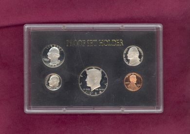 5 Coin Proof Set Holders