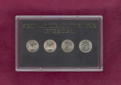 Coin Holders for 4 Westward Journey Nickels