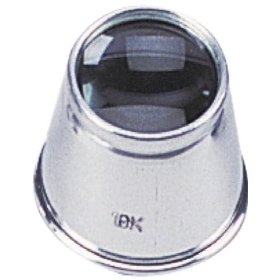 10 Power Aluminum Jeweler's Eye Loupe