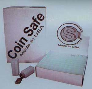 CoinSafe Square Coin Tube